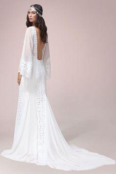 Boho Wedding Dress from Rue De Seine Piper Gown
