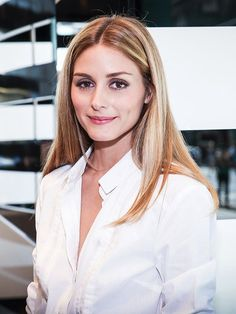 Olivia Palermo in a Crisp, White Shirt
