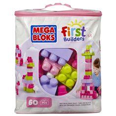 Juguete ECO MEGA BOLSA 60 PIEZAS ROSA Precio 14,23€ en IguMagazine #juguetesbaratos