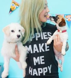 Country's First Dog Adoption Café Opens in Los Angeles | Live Happy Magazine