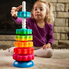 SpinAgain have vibrant colors, its fun; in addition, to helping calm a child with sensory issues.