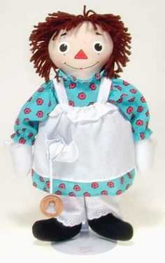 Storybook Raggedy Ann with Lucky Penny