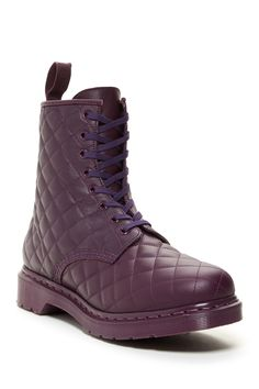Coralie Quilted Combat Boot by Dr. Martens on @HauteLook