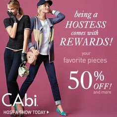 Have you been in CAbi yet? If you haven't you are missing out!!