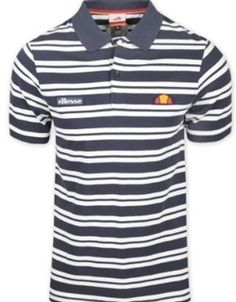 Ellesse Heritage Ali Polo Inkwell/White
