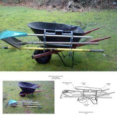 Side Rack Wheelbarrow Attachment
