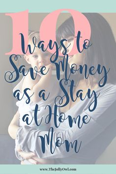 10 Ways to Save Money as a Stay at Home Mom Save Money On Groceries, Ways To Save Money, Money Tips, Funny Marriage Advice, Life Advice, Gentle Parenting, Parenting Hacks, Getting Ready For Baby, Stay At Home Mom