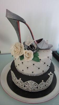 Shoes cake  Mes créations pâtissières: juillet 2015
