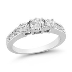 14k White Gold Diamond Engagement Ring (1.00 cttw H-I Color, I1-I2 Clarity), Size 6 Amazon Curated Collection,http://www.amazon.com/dp/B004FPZEKC/ref=cm_sw_r_pi_dp_cHIvsb1C4ZTB0AD9
