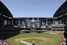 Chase Field, Arizona Diamondbacks. Crossed off April 14, 2013 vs LA Dodgers.