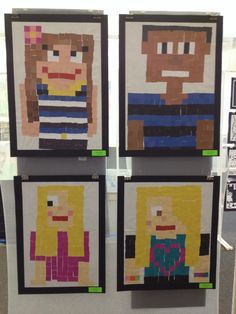 minecraft collage art kids - Google Search