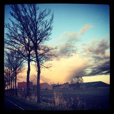 Leusden city by morning
