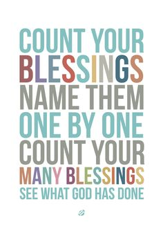 LostBumblebee 2013- COUNT YOUR BLESSINGS V2 - Free Printable - for Thanksgiving