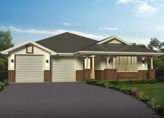 Sekisui Home Designs: Clareville 270 - Bungalow Facade. Visit www.localbuilders.com.au/builders_nsw.htm to find your ideal home design in New South Wales