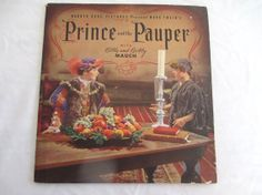Vintage RARE 1937 Prince and the Pauper by vintageboxofdelights, $35.00