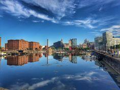 Liverpool Waterfront, New York Skyline, Building, Travel, Viajes, Buildings, Destinations, Traveling, Trips