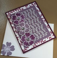 Any occasion card in soothing tones