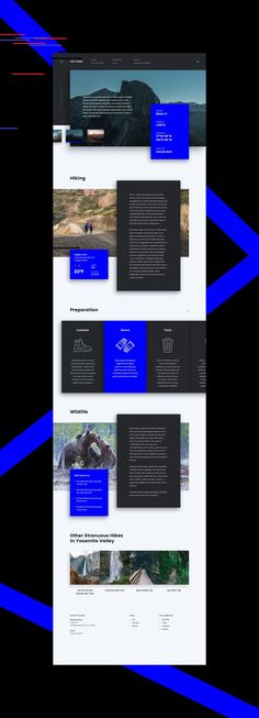 Landing page for Yosemite National Park on BehanceYou can find Landing pages and more on our website.Landing page for Yosemite National Park on Behance Cool Web Design, Clean Web Design, Web Design Studio, Homepage Design, Web Ui Design, Flat Design, Site Design, Best Landing Page Design, Best Landing Pages