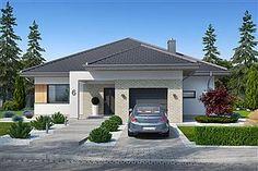 Projekt domu Kroton 116,1 m2 - koszt budowy 238 tys. zł - EXTRADOM