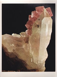 Fluorite from Switzerland from The World's Finest Minerals and Crystals by Peter Bancroft A Studio Book, The Viking Press, New York, 1973