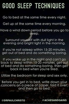 To help cope with a change in your sleep schedule
