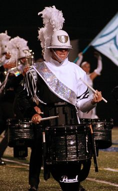 Drum Corps 2014 | pchagnon images | Phantom Regiment Marching Snare Drum, Marching Music, Marching Band Uniforms, Marching Band Memes, Tambour, Drum Band, Drum Major, Drum Corps International, Drumline