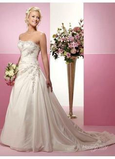 Online Girdling Beaded Puffy Low Cost Beautiful Wedding Dresses weding-dress