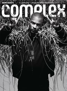 T.I with art by Jose Parla. Complex Magazine cover