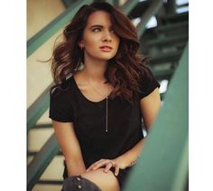 1110d39ea7 Marrin Costello    Katie Stevens in The Pearl Drop Lariat    Katie Stevens     The Pearl Drop Lariat