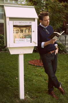Science Librarian, Academic Library; Ontario, CanadaStanding next to Hamilton's newest (and second) Little Free Library. Little Free Libraries are places where people in the community can share books: take one, leave one. Register yours or find one near you at www.littlefreelibrary.org/(full credit to my wife, it was her idea)