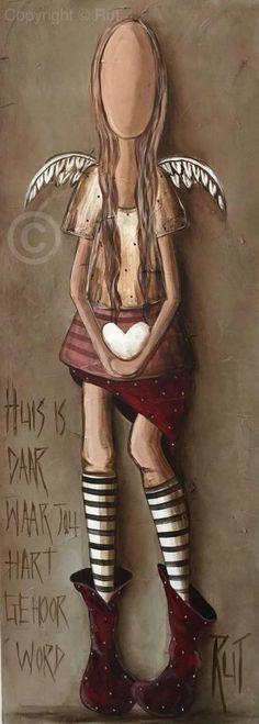 Huis...is waar jou hart gehoor word...#Afrikaans  ©Rut[rutcreations.com][Rut Art/FB] #HomeSweetHome