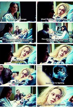 Orphan black 4x02. Helena is having twins? Talk about a Season 4 spoiler. Wow
