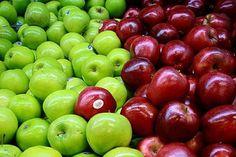 Lebensmittel für die Darmreinigung: Äpfel