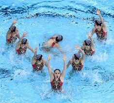 synchro swimming line pattern changes Synchronized Swimming, Line Patterns, Camel, Change, Google Search, Animals, Animais, Animales, Animaux