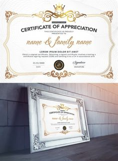 Elegant diploma with ornamental details free vector graphic design certificates and modern luxury yelopaper Gallery