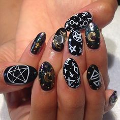 astrology nails by hey nice nails