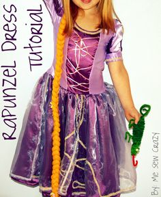Rapunzel, Rapunzel...Let Down Your Hair! A Costume Tutorial... - The Sewing Rabbit