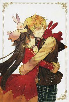 pandora hearts, alice, and oz vessalius image Otaku Anime, Manga Anime, Art Anime, Manga Art, Vanitas, Manga Love, Anime Love, Pandora Hearts Oz, Oz Vessalius