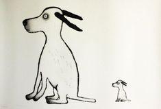 Søssa Magnus - KRANE GALLERI & RAMMEVERKSTED AS Dogs, Poster, Design, Art, Craft Art, Doggies, Kunst, Posters, Design Comics