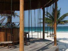 beach swing bar | mexico
