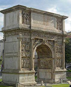 Boog van Trajanus, Benevento