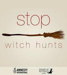 Moratorium On Witchcraft