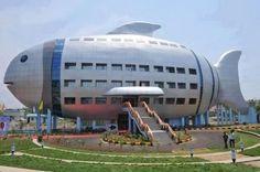 Fish building - India