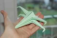 One piece of paper - that's all you need if you want to make your very own X-wing ;)  #instrukcja #instruction #instructions #handmade #rekodzielo #DIY #DoItYourself #handcraft #craft #lubietworzyc #howto #jakzrobic #instrucción #artesania #声明 #paperfolding #折り紙 #origami #摺紙 #elorigami #papier #zpapieru #paper #papel #depapel #紙 #紙巾 #Xwing #X-wing #StarWars #GwiezdneWojny #starfighter