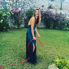 #tbt @cmarfittsmith watering the plants in #bodrum wearing #stylestalker Autumn bodysuit and express yourself skirt. Gardening in heels Dahling