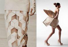 inspiration mode femme jupe longue origami mode tendance 2017
