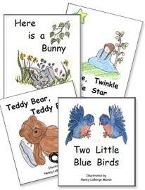 free printable children books - Printable Kindergarten Books