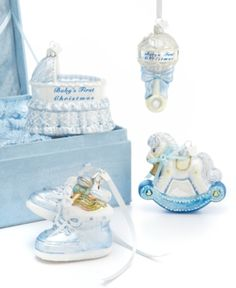 Kurt Adler Christmas Ornaments, Noble Gems Baby's First Christmas Gift Set. Kurt Adler Christmas Ornaments, Noble Gems Baby's First Christmas Gift Set Home - Misc Holiday Lane. Price: $40.00