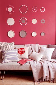 Vermelho Transforme a sua casa usando apenas cores   por Coral