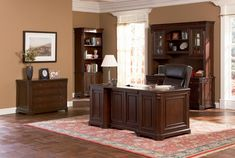 99+ Wood Home Office Desk - Rustic Home Office Furniture Check more at http://www.sewcraftyjenn.com/wood-home-office-desk/